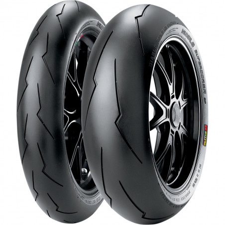 PIRELLI pneus train complet DIABLO Supercorsa V2 SP 120/70 - 180/55 R17