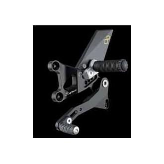 LIGHTECH aluminium taillé masse COMMANDES RECULEES APRILIA RSV4 09-12