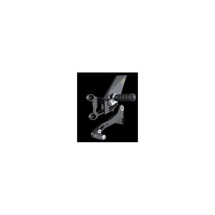 LIGHTECH aluminium taillé masse COMMANDES RECULEES APRILIA TUONO V4 11-12
