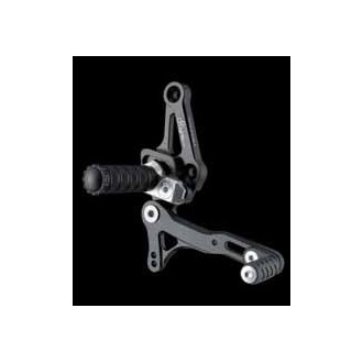 LIGHTECH aluminium taillé masse COMMANDES RECULEES DUCATI 1098 STREET FIGHTER 09-12
