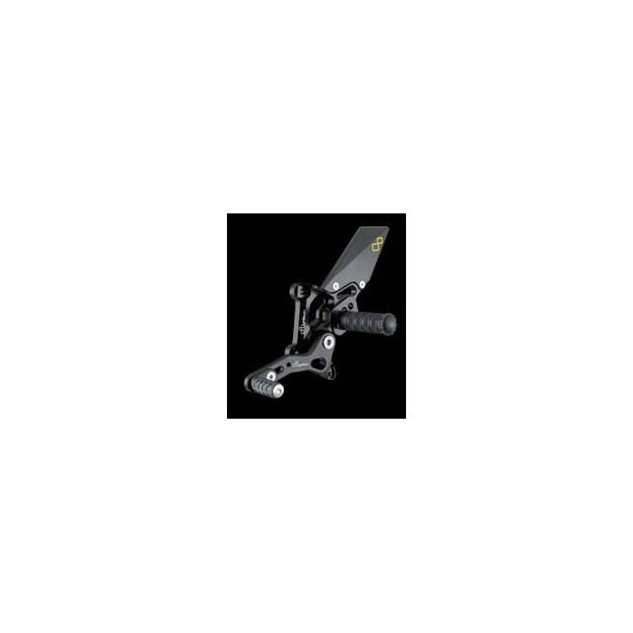 LIGHTECH aluminium taillé masse COMMANDES RECULEES DUCATI 1198 07-11