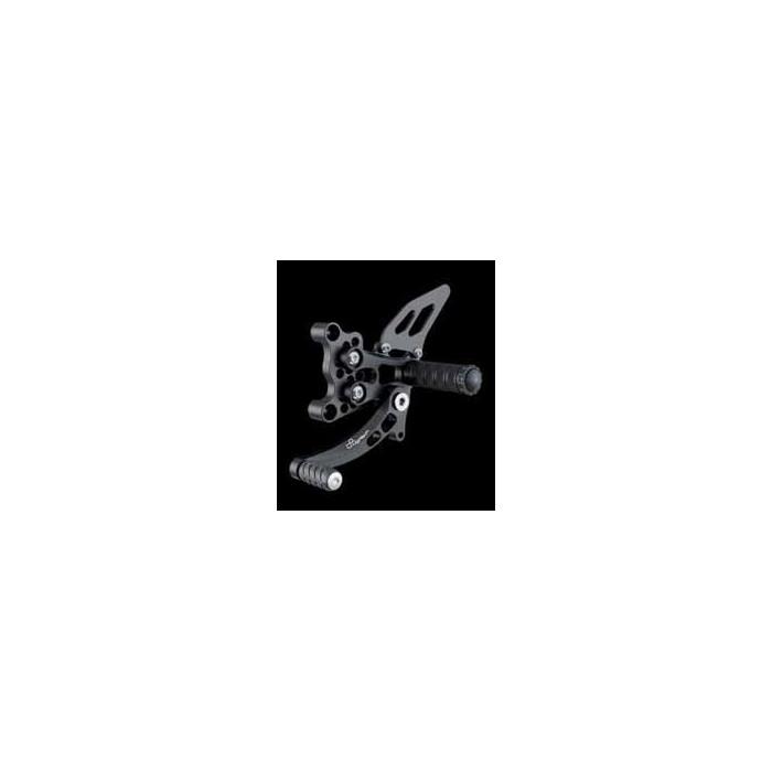 LIGHTECH aluminium taillé masse COMMANDES RECULEES DUCATI 749 02-06