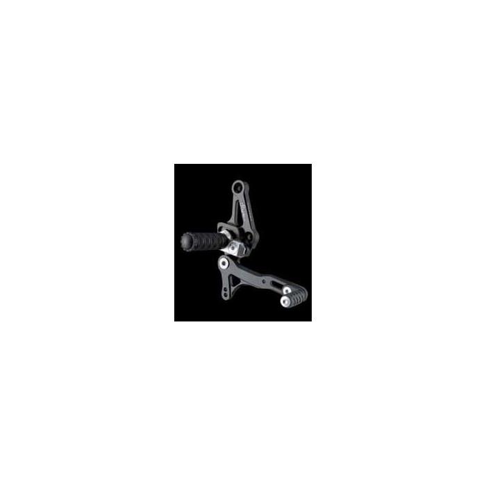 LIGHTECH aluminium taillé masse COMMANDES RECULEES DUCATI 848 STREET FIGHTER 09-12