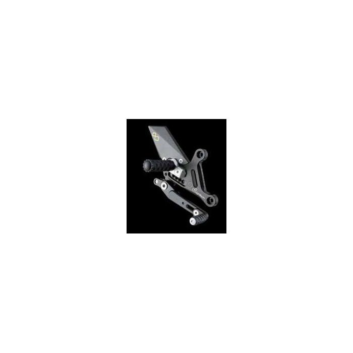 LIGHTECH aluminium taillé masse COMMANDES RECULEES HONDA CB1000R 08-12