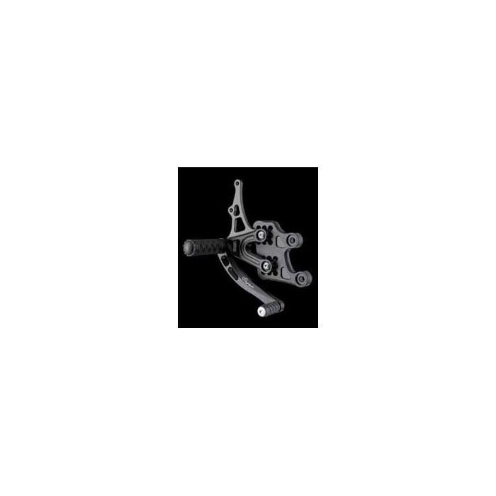LIGHTECH aluminium taillé masse COMMANDES RECULEES HONDA CBR 1000 RR 04-07