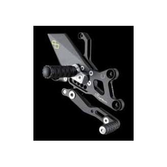 LIGHTECH aluminium taillé masse COMMANDES RECULEES HONDA CBR 1000 RR 08-12