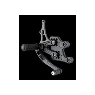 LIGHTECH aluminium taillé masse COMMANDES RECULEES HONDA CBR 600 RR 03-06
