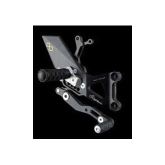 LIGHTECH aluminium taillé masse COMMANDES RECULEES HONDA CBR 600 RR 07-12