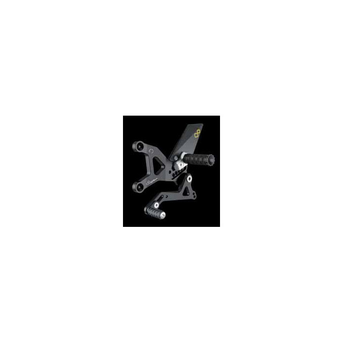 LIGHTECH aluminium taillé masse COMMANDES RECULEES KAWASAKI ZX6R 05-12
