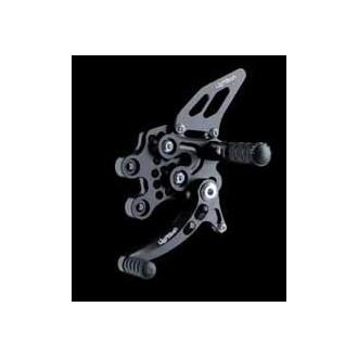 LIGHTECH aluminium taillé masse COMMANDES RECULEES SUZUKI 1000 GSXR 05-06