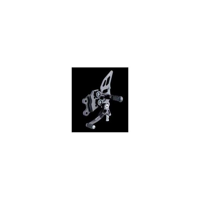 LIGHTECH aluminium taillé masse COMMANDES RECULEES SUZUKI 1000 GSXR 07-08