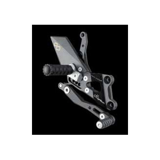 LIGHTECH aluminium taillé masse COMMANDES RECULEES YAMAHA FZ8 10-12
