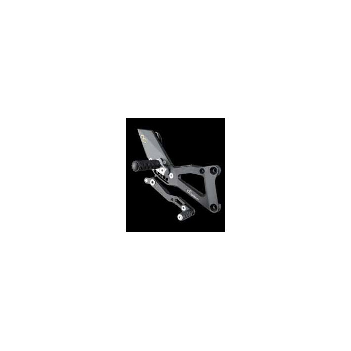 LIGHTECH aluminium taillé masse COMMANDES RECULEES YAMAHA R1 07-08