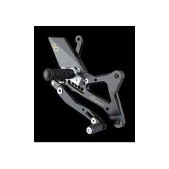 LIGHTECH aluminium taillé masse COMMANDES RECULEES YAMAHA R1 09-12