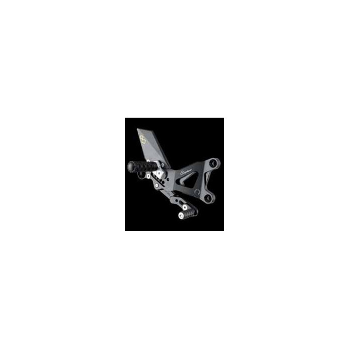 LIGHTECH aluminium taillé masse COMMANDES RECULEES YAMAHA R6 08-12
