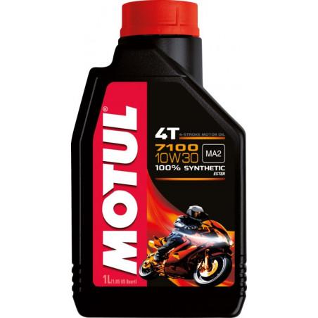 MOTUL huile moteur 100% SYNTHESE  7100 4T 10W30