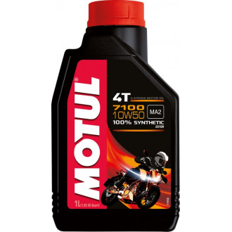MOTUL huile moteur 100% SYNTHESE  7100 4T 10W50