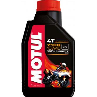 MOTUL huile moteur 100% SYNTHESE  7100 4T 10W40