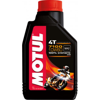 MOTUL huile moteur 100% SYNTHESE  7100 4T 10W60