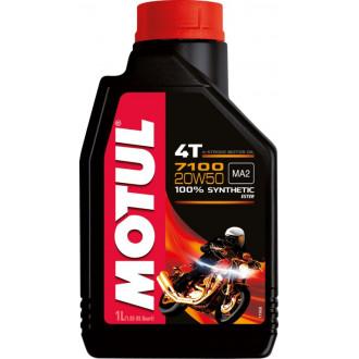 MOTUL huile moteur 100% SYNTHESE  7100 4T 20W50