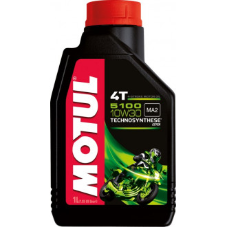 MOTUL huile moteur TECHNOSYNTHESE  5100 4T 10W30
