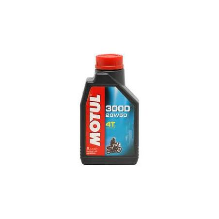 MOTUL huile moteur  MINERALE  3000 4T 20W50