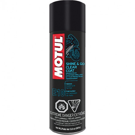 MOTUL produit de nettoyage  SHINE & GO SILICONE CLEAN spray 400ml