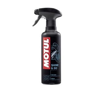 MOTUL produit de nettoyage  SHINE & GO SILICONE CLEAN 400ml