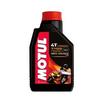 MOTUL huile moteur 100% SYNTHESE  7100 4T 15W50