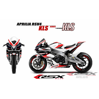 RSX kit déco racing APRILIA RSV4 KLS.V1