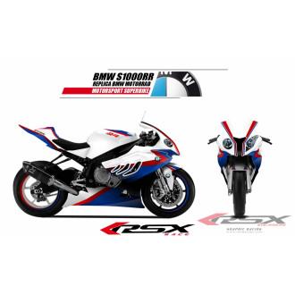 RSX kit déco racing BMW S1000RR SUPERBIKE