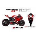 RSX kit déco racing DUCATI 1199 KLR
