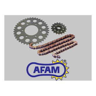 AFAM kit chaine complet XHR ACIER APRILIA RSV 1000 R 04-09