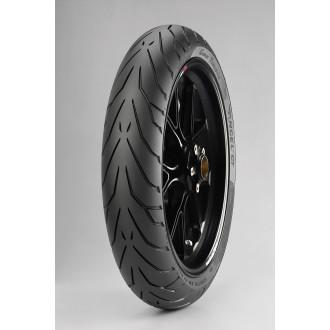 PIRELLI pneu avant ANGEL GT nouveauté 2014 120/70 ZR17 (spécial moto lourdes)