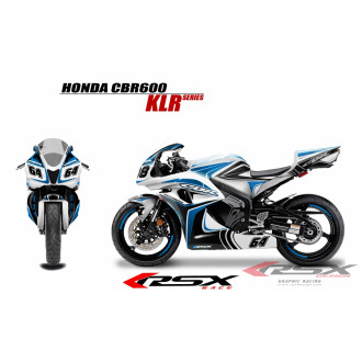 RSX kit déco racing HONDA CBR600 KLR 07-12