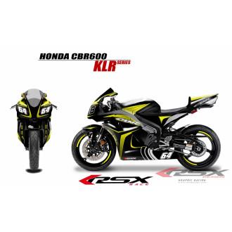 RSX kit déco racing HONDA CBR600 KLR 07-12