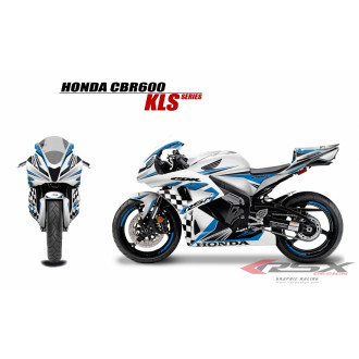 RSX kit déco racing HONDA CBR600 KLS 07-12