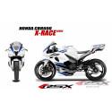 RSX kit déco racing HONDA CBR600 X-RACE 07-12