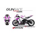 RSX kit déco racing HONDA CBR1000 GUNRACE 12-