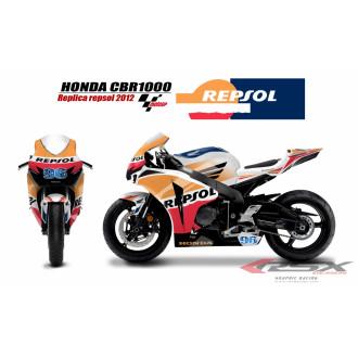 RSX kit déco racing HONDA CBR1000 REPSOL 09-12