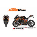RSX kit déco racing KTM RC8 R-KUL 08-