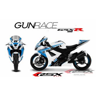 RSX kit déco racing SUZUKI GSXR1000 GUNRACE 05-06