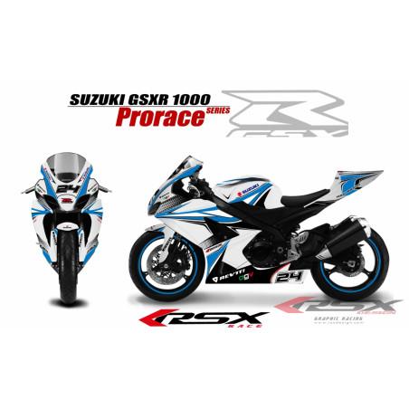 RSX kit déco racing SUZUKI GSXR1000 PRORACE 07-08