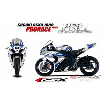 RSX kit déco racing SUZUKI GSXR1000 PRORACE 09-
