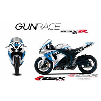 RSX kit déco racing SUZUKI GSXR1000 GUNRACE 09-