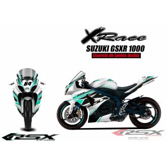 RSX kit déco racing SUZUKI GSXR1000 X-RACE 09-