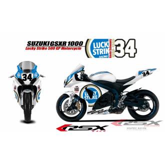 RSX kit déco racing SUZUKI GSXR1000 LUCKY STIKE 09-